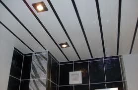 черная ванная комната отделанная панелями