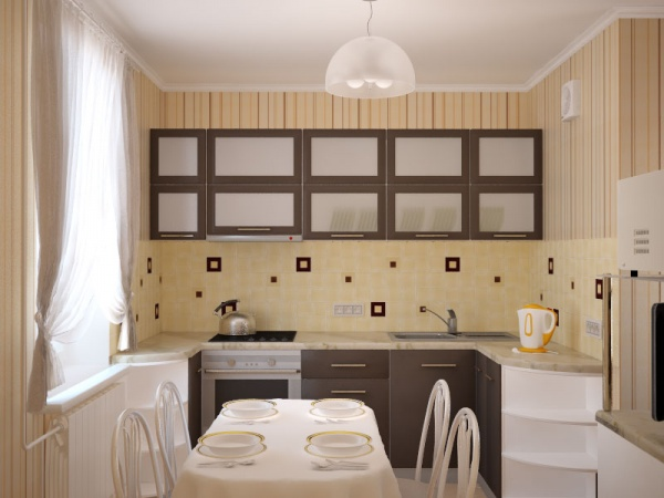 дизайн маленькой кухни в хрущевке с фото