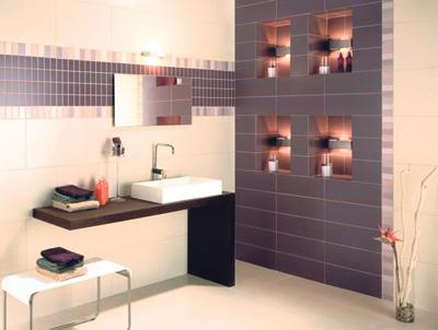разные способы укладки плитки в ванной комнате