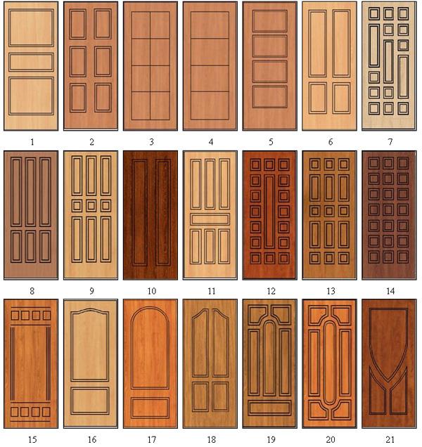 Установка панелей МДФ для дверей