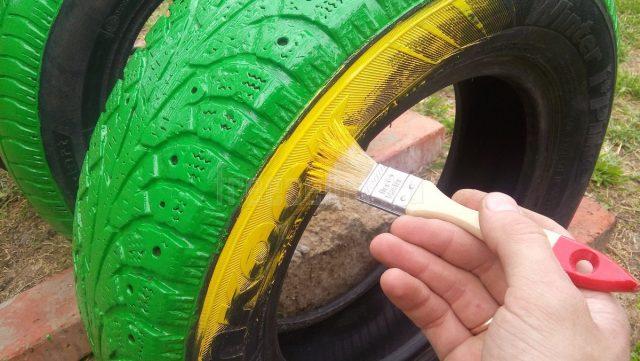 Поделки из колес своими руками