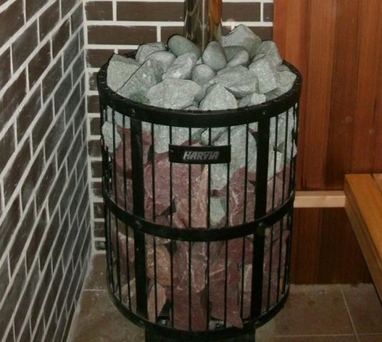 Сетка для камней для бани своими руками фото 51