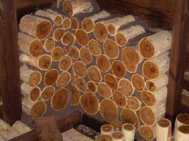 Баня из глиночурки