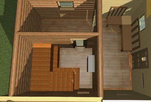 Проекты маленьких одноэтажных бань