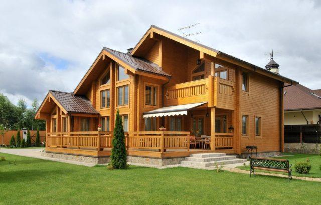 Преимущества домов из бруса