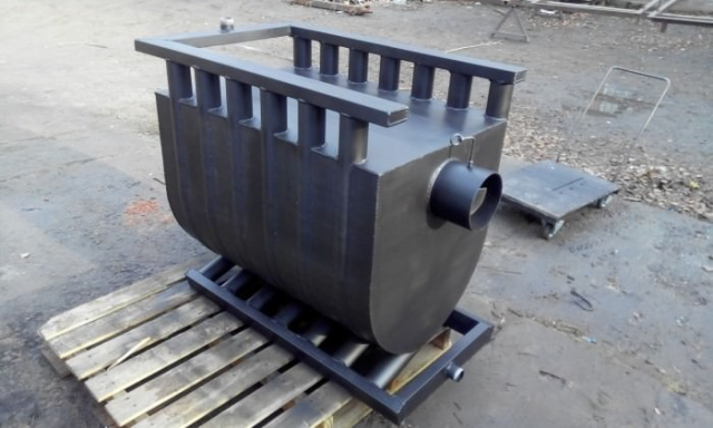 Печь для бани с водяным контуром