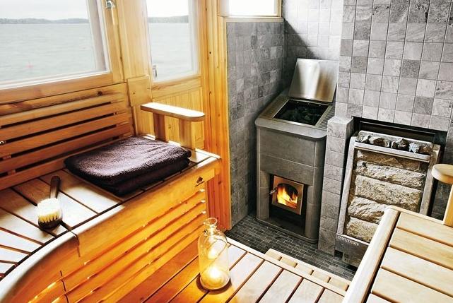 Газовая печь для бани своими руками