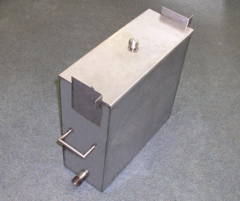Водяной бак для бани из нержавейки