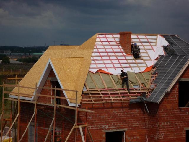 Пароизоляция для крыши Изоспан