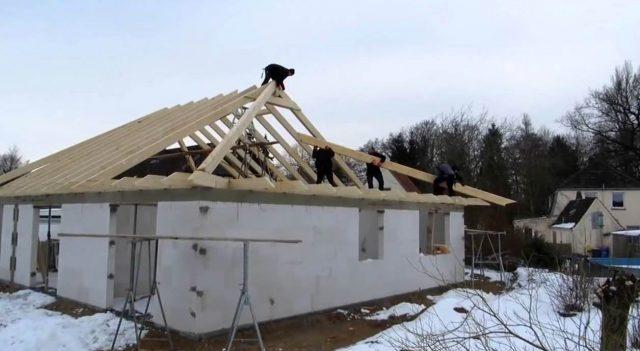 Крыша конвертом: фото, как собирать