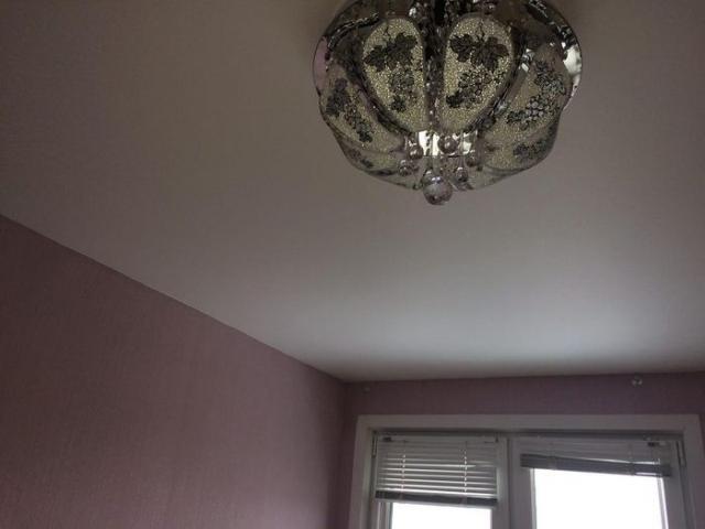 Натяжные потолки сатиновые