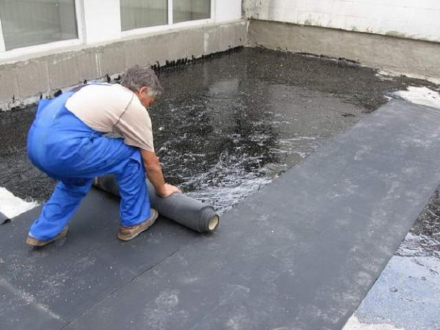 Как укладывать на крышу гидроизол