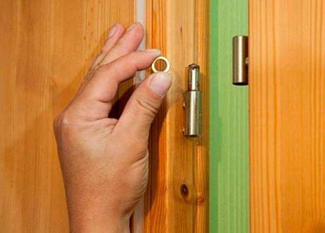 Как открыть замок межкомнатной двери без ключа