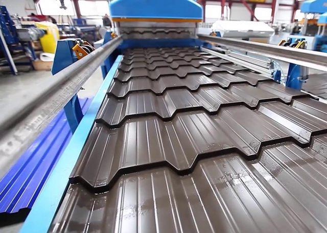 Оборудование для производства металлочерепицы и технология изготовления