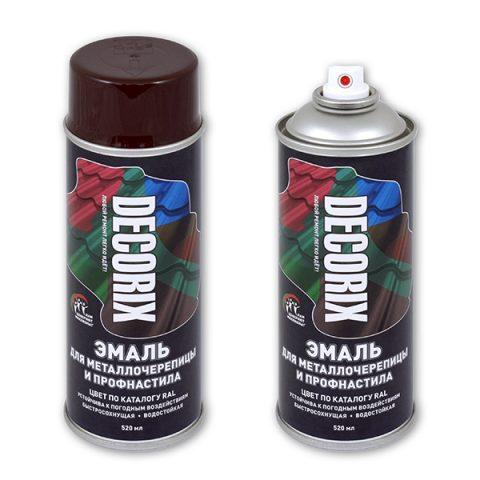 Краска для металлочерепицы: в баллончиках, для краскопульта