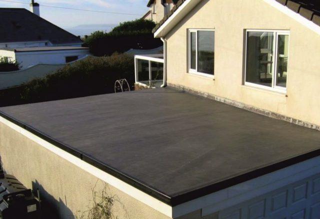 Пирог плоской кровли: по бетонному и железобетонному основанию, утепленной