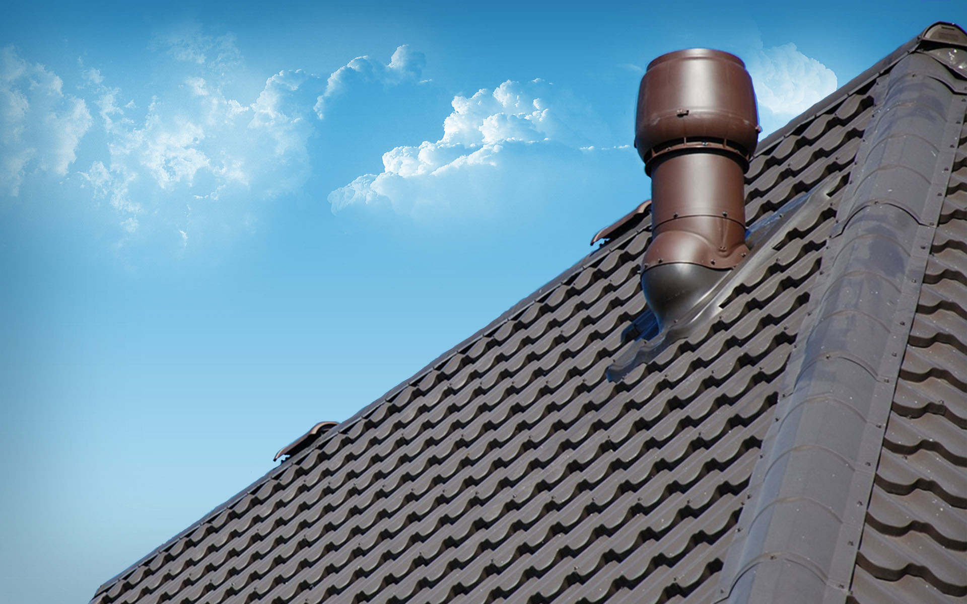 Установка грибка вентиляции на крышу как правильно сделать дефлектор для вытяжки