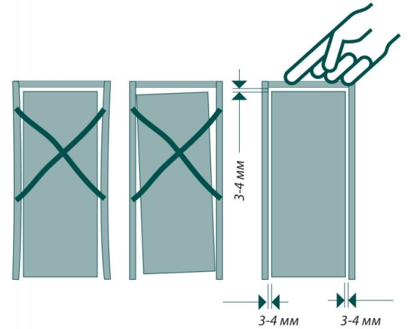 Как установить межкомнатную дверь: как собрать коробку, установка доборов