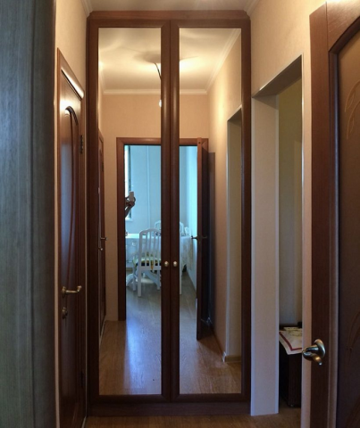 Межкомнатные распашные двустворчатые двери: установка, фото и видео