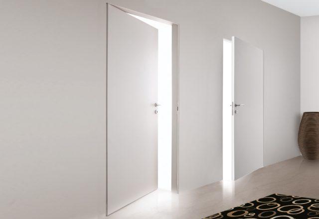 Двери без наличников со скрытым коробом: виды, установка, фото в ...