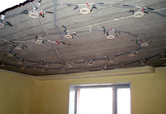 Софиты для натяжных потолков: фото и виды