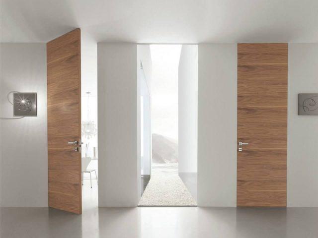 Двери со скрытым коробом: как сделать и установить своими руками