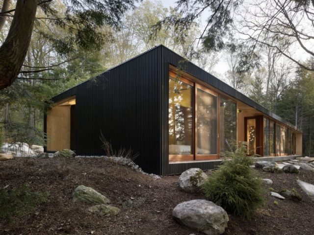 Одноэтажные дома с плоской крышей: современные проекты и фото