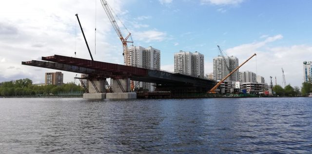 В Москве в ноябре появится новый мост