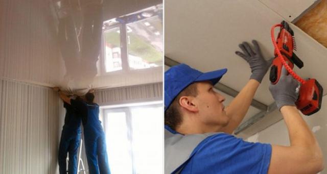 Чем отличается натяжной потолок от подвесного: что лучше, фото