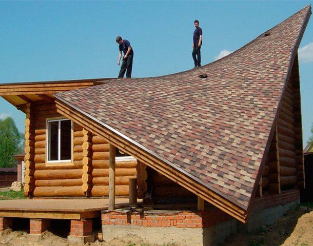 Двухэтажный дом с односкатной крышей: проекты и фото