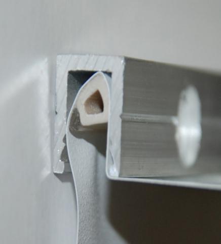 Потолочный профиль для натяжного потолка: какие бывают и как клеить
