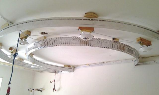 Многоуровневый натяжной потолок: как делается без гипсокартона, фото и видео