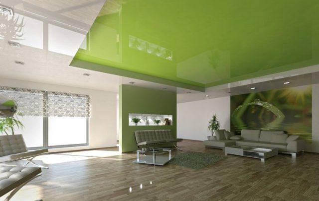 Цвет полотна для натяжного потолка: как правильно выбрать, цветовая гамма