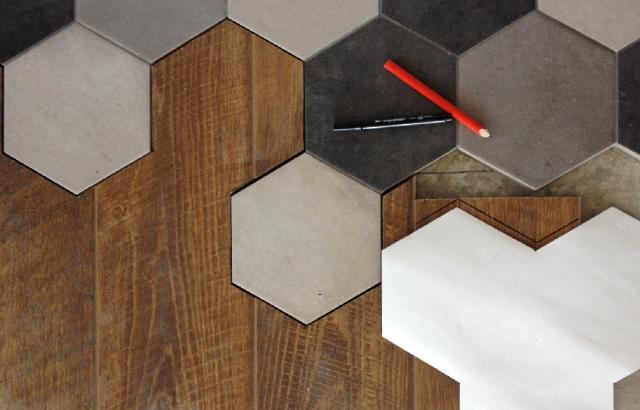 Ламинат и плитка в прихожей: сочетание, укладка, фото