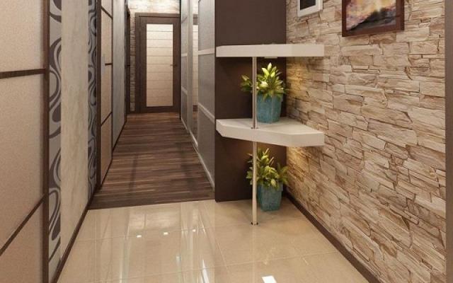 Ламинат с рисунком камня: с фактурой, виниловый, на кухню, фото