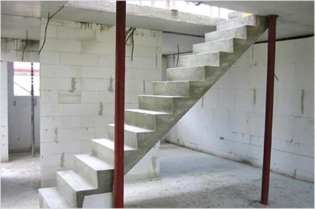 Отделка лестницы ламинатом: деревянной, металлической и бетонной
