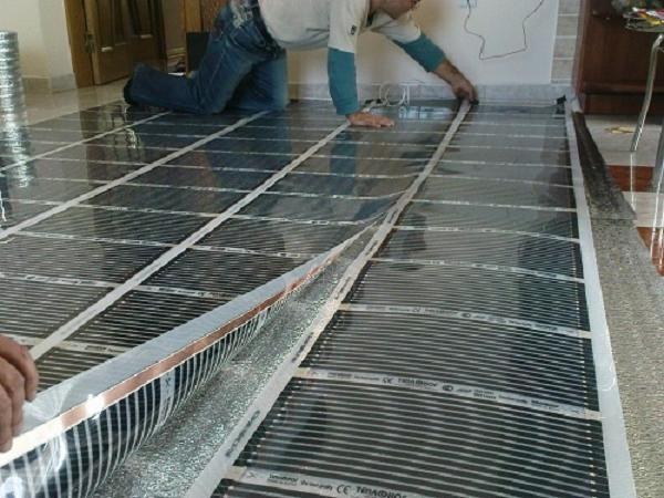 Теплый пол под ковролин: пленочный или водный, технология монтажа, отзывы
