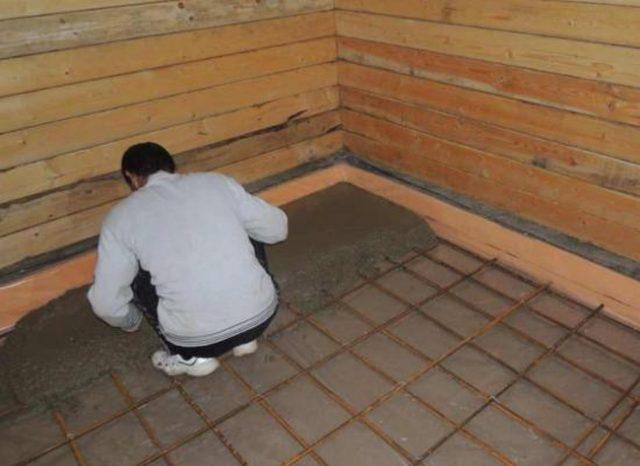 Утепление пола в бане: как выбрать и утеплить деревянный и бетонный пол