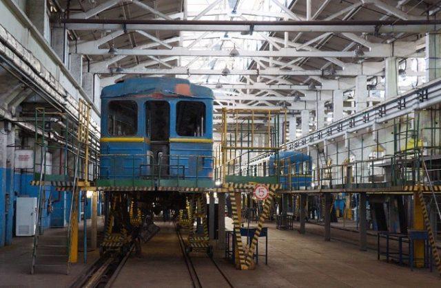 Вагоноремонтный завод в Ленинградской области