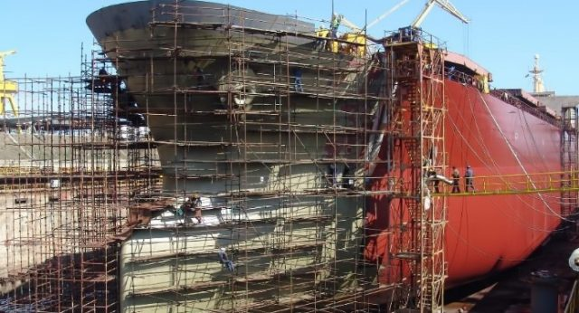 Современное строительство судов