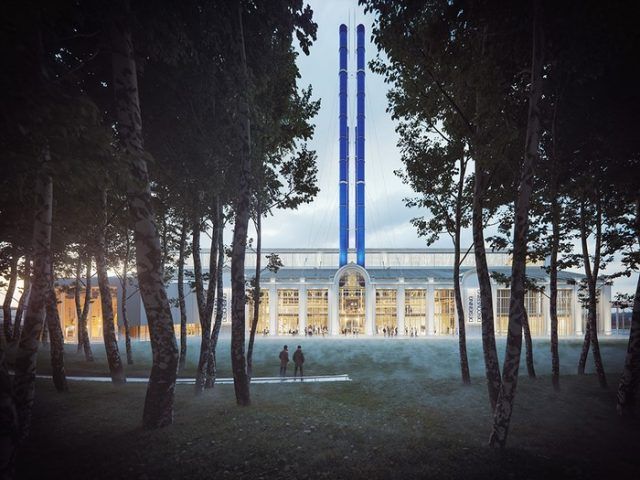 Бывший комплекс «ГЭС-2» преобразуется в Арт-центр