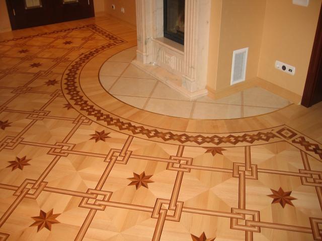 Стыковка линолеума и плитки: переход с разной высоты, без порожка на полу на кухне и в прихожей