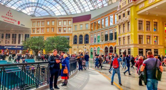 В Москве открылся грандиозный парк развлечений «Остров Мечты» - крупнейший в Европе