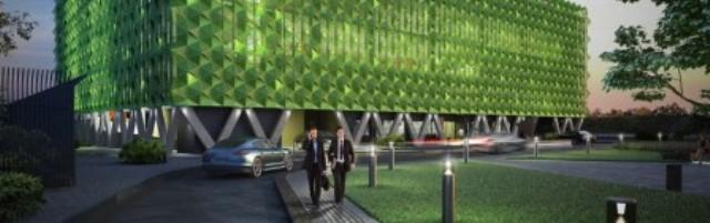 Два многоуровневых паркинга войдут в станционный комплекс аэропорта «Внуково»
