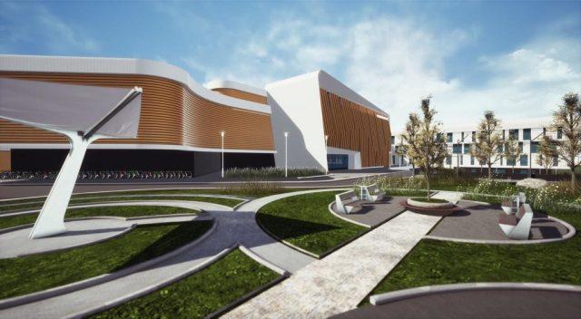 «Школа 800» в Нижнем Новгороде. Начато строительство крупнейшего в РФ учебного центра