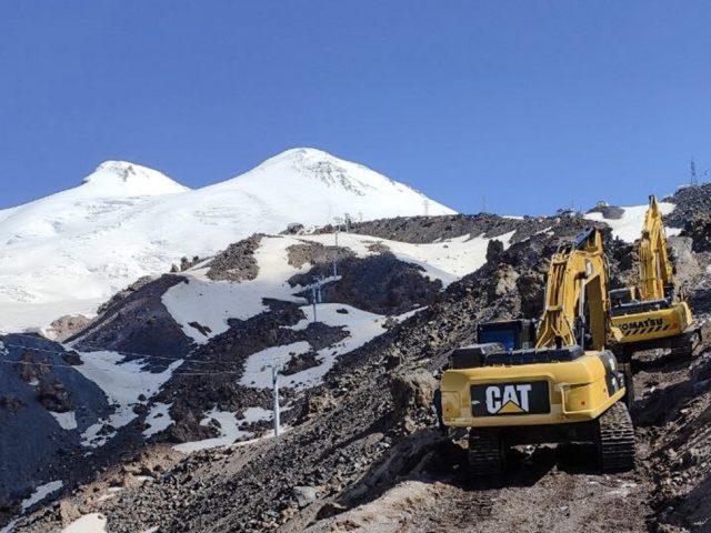 Строительство в 2020 году новой горнолыжной трассы на склонах Эльбруса