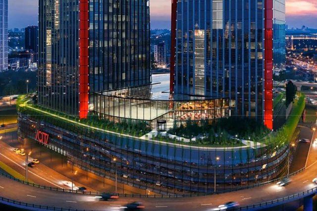 Архитектура нового тысячелетия. Строительство центра iCity, двух новых небоскребов