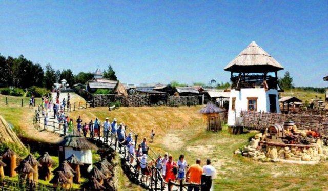 Строительство исторического парка развлечений «Дикое поле» в Воронежской области