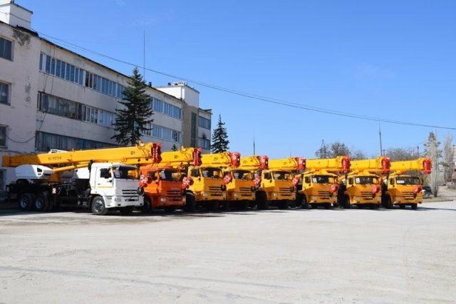 Камышинский крановой завод в День машиностроителей отметил 65-летний юбилей!