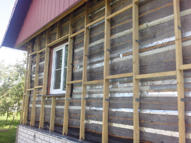 Утепление фасада дома минватой снаружи под сайдинг